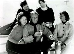 #Sixties | Aron Kincaid and the girls from Ski Party, 1965
