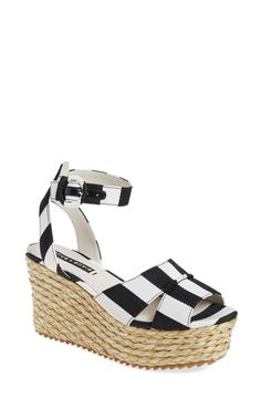 Alice + Olivia 'Roberta' Espadrille Platform Sandal (Women)