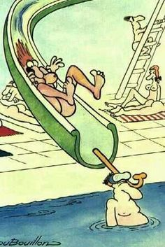 Swimming Photo: This Photo was uploaded by Find other Swimming pictures and photos or upload your own with Photobucket free image and vide. Frases Humor, Best Funny Photos, Funny Pictures, Funny Cartoons, Funny Comics, Image Fun, Free Image, Humor Grafico, George Clooney
