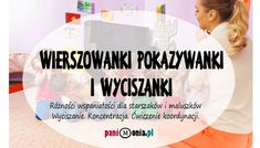 Rymowanki pokazywanki i wyciszanki - Pani Monia Craft Projects For Kids, Easy Projects, Poems About School, Baby Hacks, Kids And Parenting, Personal Development, Montessori, Diy And Crafts, Kindergarten