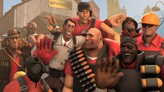 Should I be awake for this? Team Fortess 2, Red Team, Valve Games, Team Fortress 2 Medic, Tf2 Memes, Red Vs Blue, Just A Game, Best Games, Overwatch