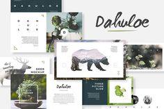 Dahuloe PowerPoint Template - Presentations