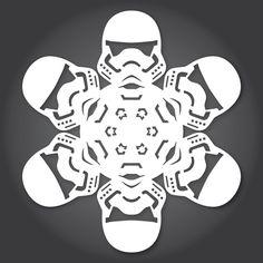 Die Star Wars Winter Fensterdeko zum selber basteln   The Force Awakens Edition