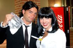 """Vincent Vega and Mia Wallace of """"Pulp Fiction"""" have a reenactment of sorts of their infamous drug overdose scene during Guavawen 2012."""