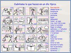 II, 4 - Me encanta escribir en español: La rutina: Un día típico (ejercicio).