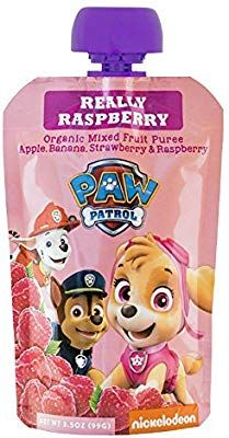 Paw Patrol Really Raspberry Organic Mixed Fruit Squeeze Pouch, Ounce, Pack of 10 Organic Fruit Snacks, Fruit Fruit, Bubble Fruit, Chocolate Candy Brands, Welches Fruit Snacks, Fruit Pouches, Pumpkin Tree, Minnie Mouse Cookies, Fruit Cookies