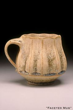 Shankin Pottery :Faceted Mug