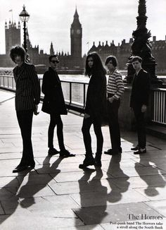The Horrors in British Vogue June 2012