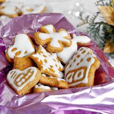 Fitness zdravé dýňové perníčky - vánoční cukroví recept Bajola Christmas Sweets, Trifle, Gingerbread Cookies, Nutella, Sugar, Desserts, Recipes, Fitness, Food