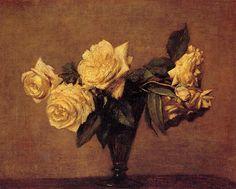 Roses, 1891 - Henri Fantin-Latour