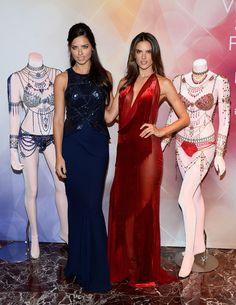 Alessandra Ambrosio Photos: Adriana Lima and Alessandra Ambrosio Debut Fantasy Bras