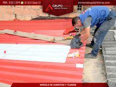 Instalación, mantenimiento, limpieza e impermeabilización de tejados, cubiertas y marquesinas.