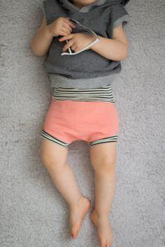Baby Shorts, Beach shorts, Soft shorts,Coral shorts