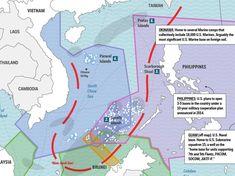south china sea dispute map - Google zoeken