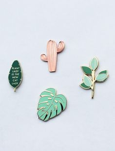 Enamel Pin Set | handmadesammade on Etsy