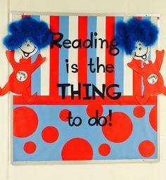 By Kristi Sutter    Thanks to Kristi from Sheridan Elementary School for sharing this great display!  Read Across America Day  is a n...