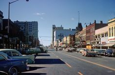 Appleton, Wisconsin, 1962. Also my grandpa's hometown. It would be amazing to visit appleton and see where me family roots are:)