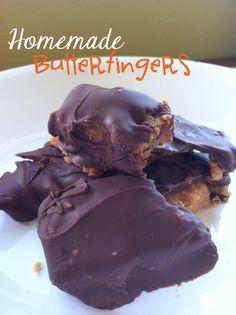 Daylights: Homemade Butterfingers