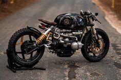 "BMW R100 #28 ""Black Stallion"" - National Custom Tech Motorcycles"