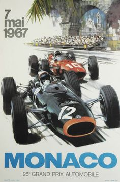 #1967: Grand Prix Automobile Club de Monaco #AutomobileClubdeMonaco  Women's…