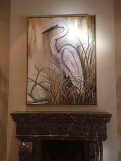 Tole Painting, Painting On Wood, Painting Prints, Painting & Drawing, Diy Painting, Acrylic Canvas, Canvas Art, Flamingo Art, Tropical Art