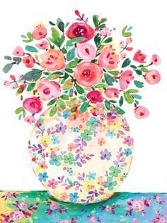Leading Illustration & Publishing Agency based in London, New York & Marbella. Watercolour Painting, Watercolor Flowers, Illustration Art, Illustrations, Jolie Photo, Whimsical Art, Pattern Wallpaper, Flower Art, Cute Art