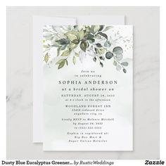 Rustic Bridal Shower Invitations, Engagement Party Invitations, Bridal Shower Rustic, Rustic Wedding, Wedding Blue, Wedding Rsvp, Floral Wedding, Rustic Baby, Fall Wedding