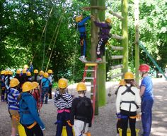 Climbing at Caythorpe
