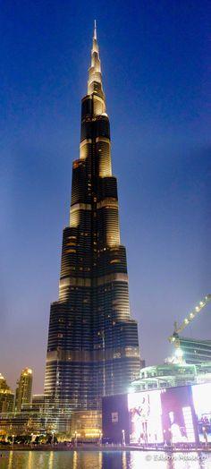 Burj Khalifa a noite