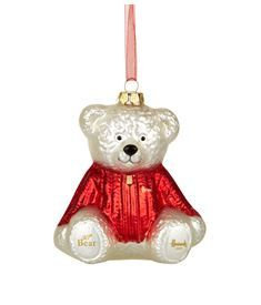 View the 30th Anniversary Christmas Bear Decoration