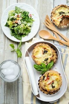 Cheesy Picnic Tarts - Foodness Gracious