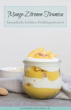 Mango-Zitronen-Tiramisu im Glas | Worldtasteadventure
