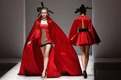 China #Fashion Week, This is #fashion heard around the world. @Stanzino