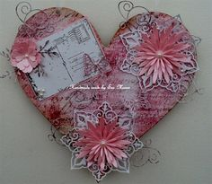 Decorated Heart .... | docrafts.com