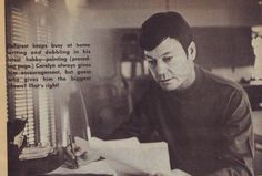 DeForest Kelley : At Home