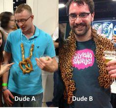 pretzel necklace acbf