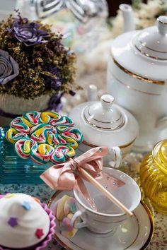 Chá da Tarde - Mini Lady | Tricô Infantil Monte Sião