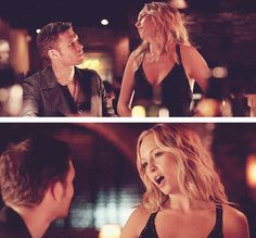 Klaroline ;) I like them together