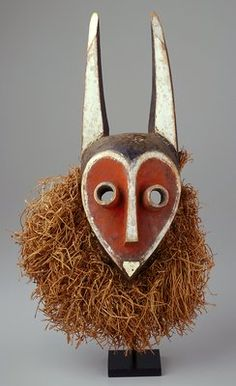 Africa   Mbambi Mask. DR Congo.  c. 1900 AD   In the Minneapolis Institute of Arts collection