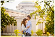 Museum of Science and Industry Engagement Session Liesl Diesel Photo