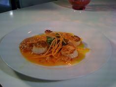 Scallops in spicy orange sauce from Jade Kitchen in West Palm Beach, Fl. Road Trip Across America, Road Trip Food, West Palm Beach, Scallops, Have Time, Jade, Spicy, Orange, Cooking