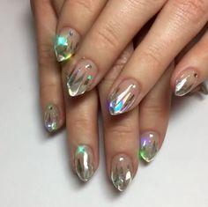 Unicorn Tipped Nail Art | POPSUGAR Beauty