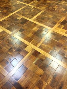 Marvelous Custom Richard Marshall Walnut Floor. Offered In Any Color. Oil Finish.  Purchase At