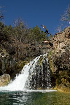 Fossil Creek, Strawberry AZ Also A couple of hours drive from Phoenix. We haven't been.