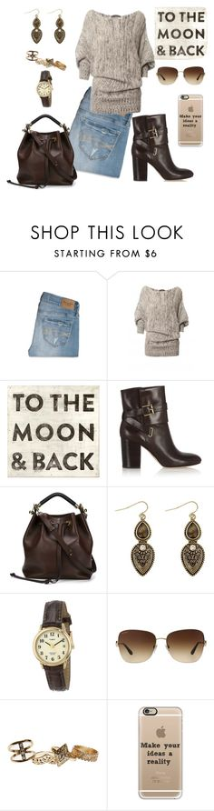 """Untitled #563"" by gallant81 ❤ liked on Polyvore featuring Abercrombie & Fitch, MICHAEL Michael Kors, Chloé, Timex, Bulgari, Wet Seal and Casetify"