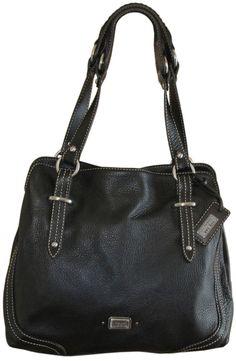 The Sak Black Leather Handbag Purse EUC #TheSAK #HandbagPurse