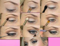 Chic@s, aquí os dejo un tutorial para hacer un delineado tipo pin-up...A mí personalmente este tipo de maquillaje siempre me ha gustado mucho y sigue estando a la moda. Todo un clásico!!