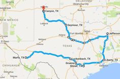 Very cool! Check out this route though Texas!