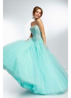 Floor Length With Beaded Bodice Corset Tie Back Satin Ball Gown Sweetheart Prom Dresses