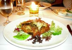 Vegetarian Moussaka Recipe - can remove Potatoe & Cheese, and put all into the dish to bake together layered as another option